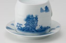 茶香炉-染付山水