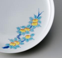 19cm和皿-鍋島五種絵変わり