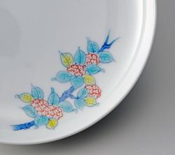 16cm和皿−鍋島五種絵変わり
